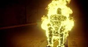 flaming-wheelchair